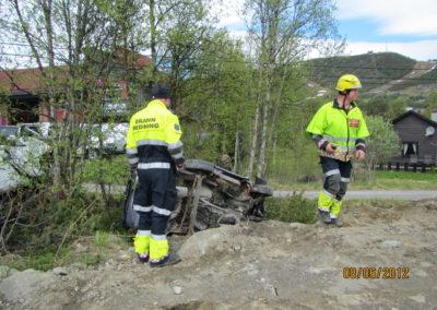Øvelse På Trafikkulykke